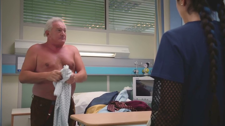 Graham Cole in Holby City 16th Jan 2018 (31)