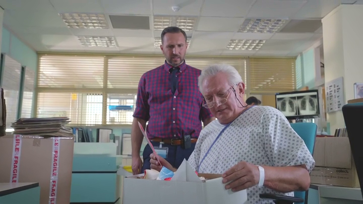 Graham Cole in Holby City 16th Jan 2018 (47)