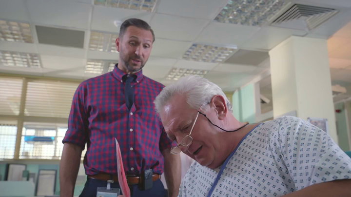 Graham Cole in Holby City 16th Jan 2018 (48)
