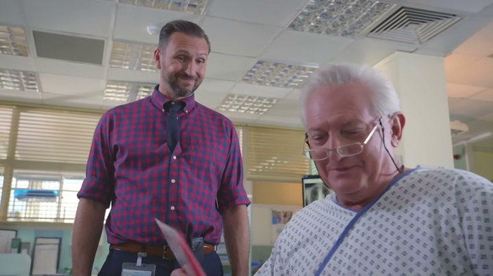 Graham Cole in Holby City 16th Jan 2018 (49)