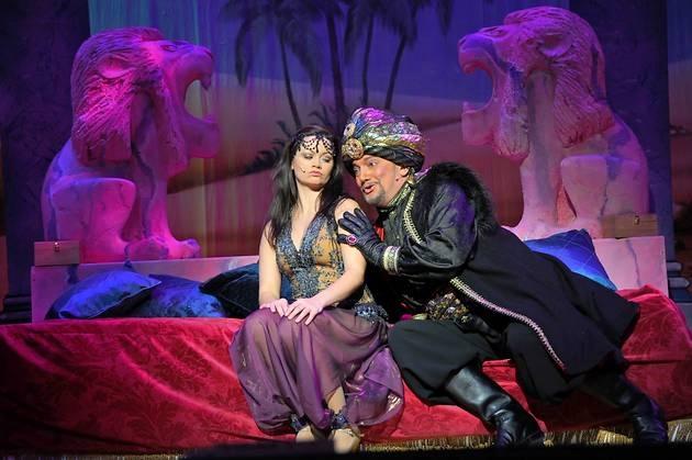 Graham Cole as Abanazar in Aladdin 2012