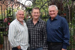Graham Cole, Chris Walker & Robert Hudson - Doctors 2015