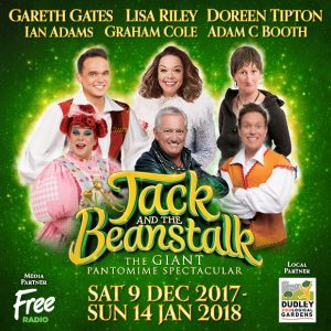 Graham Cole in Jack and the beanstalk 2017